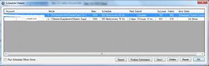 AMR scheduler information