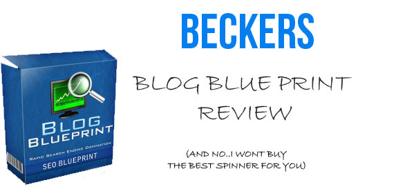 Blog Blue Print Review