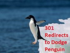 301 redirects and penguin